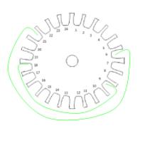 Cách quấn motor điện 3 pha 24 rảnh - pha thứ 2